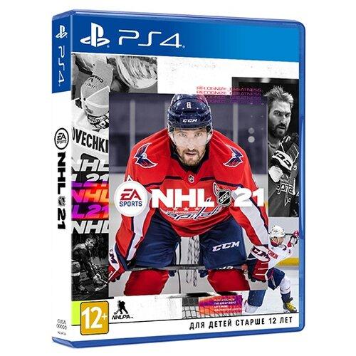 Игра для PlayStation 4 NHL 21