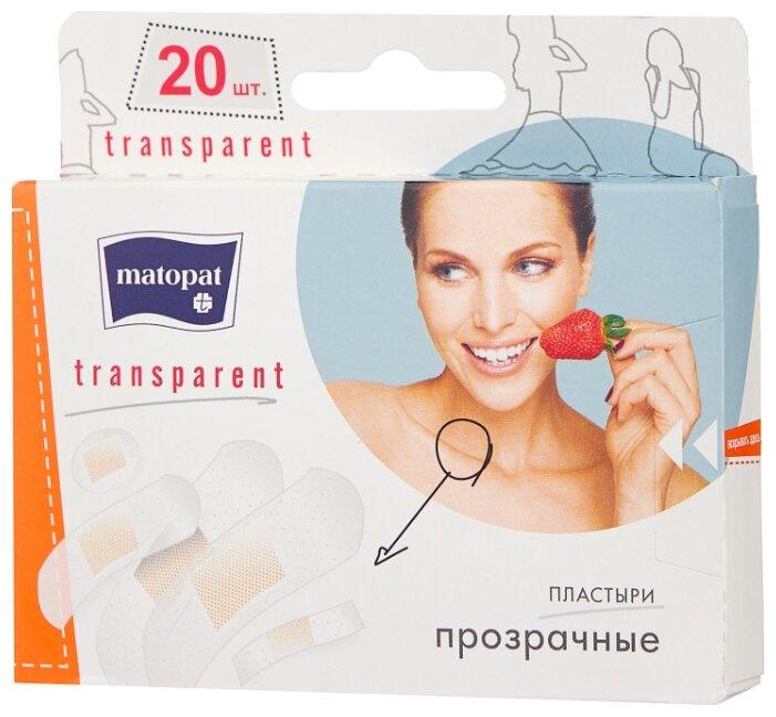 Matopat Transparent пластырь защитный, 20 шт.