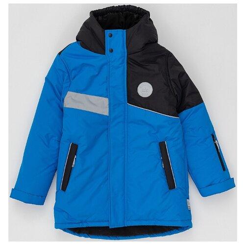 Купить Куртка Button Blue Active 220BBBA4501 3700 / 2700 размер 128, синий, Куртки и пуховики
