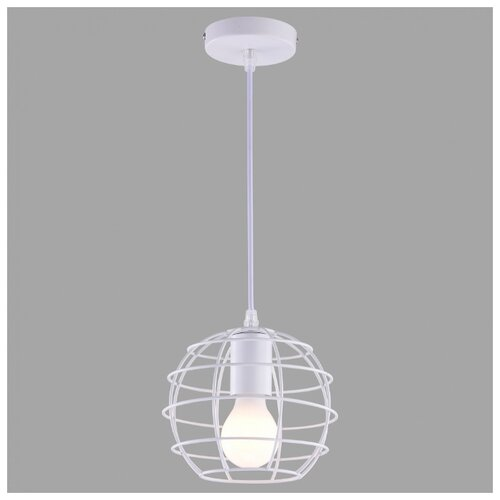 Светильник Arte Lamp Spider A1110SP-1WH, E27, 60 Вт