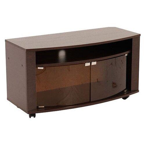 цена на Тумба под телевизор MEBELSON Мини 2 T-030, ШхГхВ: 94х42.5х51.5 см, цвет: венге