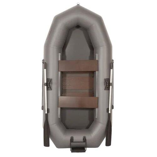 Фото - Надувная лодка Лоцман С 280 М П РС серый надувная лодка лоцман с 260 м серый