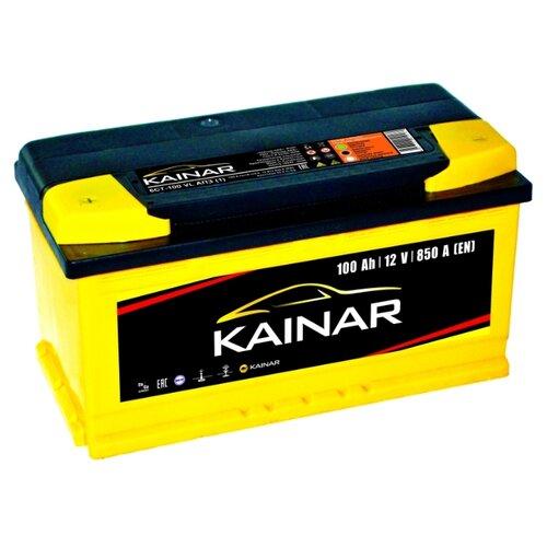 Автомобильный аккумулятор Kainar 6СТ100 VL АПЗ п.п. автомобильный аккумулятор kainar asia 6ст65 vl апз п п 88d23r