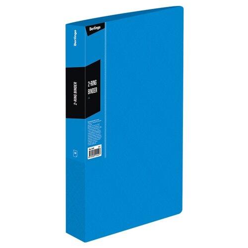Купить Berlingo Папка на 2-х кольцах Color zone А4, пластик синий, Файлы и папки