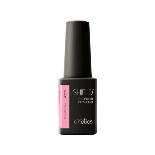 Гель-лак для ногтей KINETICS SHIELD, 15 мл, #220 Pink Silence гель лак для ногтей kinetics shield renascent 15 мл 473 bon vivant