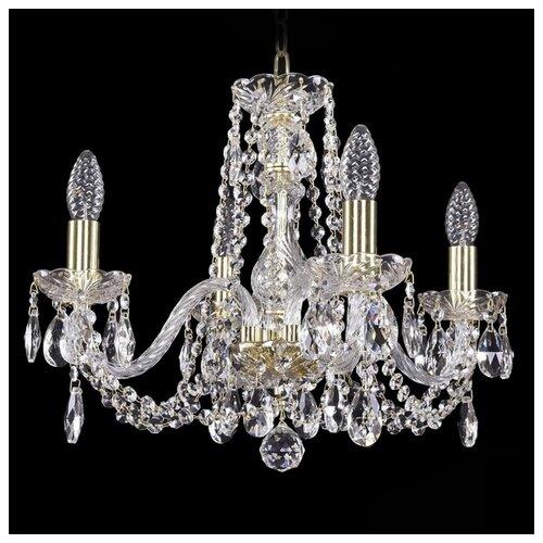 Люстра Bohemia Ivele Crystal 1402 1402/4/160/G, E14, 160 Вт люстра bohemia ivele crystal 1402 1402 4 160 g e14 160 вт