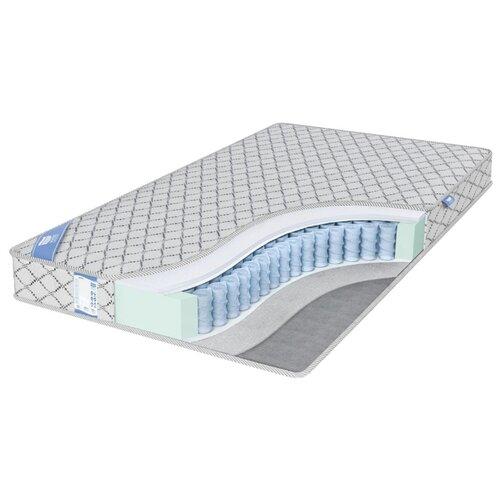 Матрас Промтекс-Ориент EcoSoft Струтто Сайд 140x200 пружинный серебристый