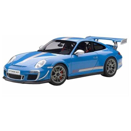 Купить Легковой автомобиль Bburago Porsche GT3 RS 4.0 (18-11036) 1:18 25 см голубой, Машинки и техника