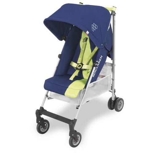 Купить Прогулочная коляска Maclaren Triumph medieval blue/limeade, Коляски