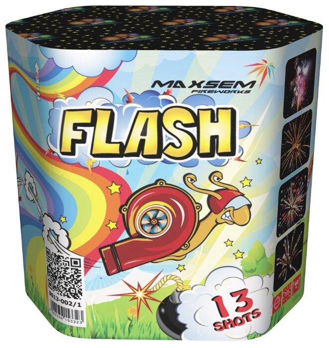 "Фейерверк + фонтан BS13-002-1 Флеш / Flash (1,2"" х 13)"