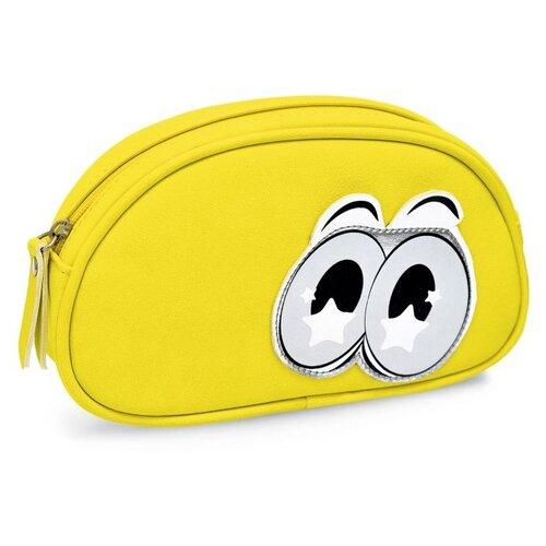Купить Феникс+ Пенал Глаза (48488/89/90) желтый, Пеналы