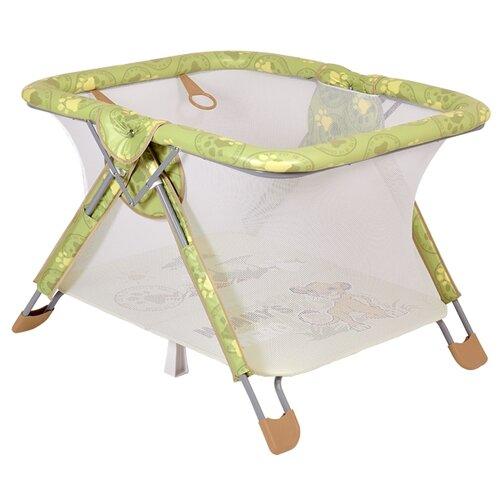 Купить Манеж Polini Disney baby Comfort зеленый, Манежи