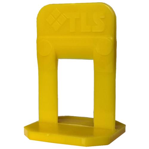Зажим TLS Profi TLS12017 желтый 100 шт.