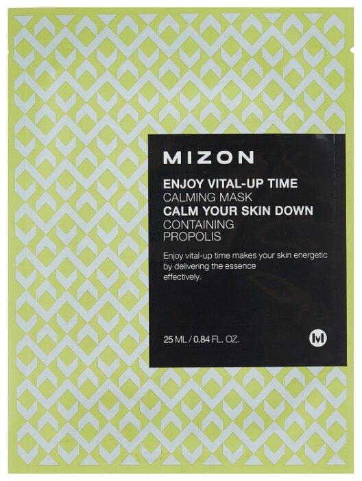 Mizon Enjoy Vital-Up Time Calming Mask успокаивающая тканевая маска с прополисом