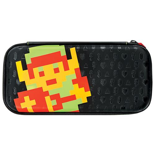 Pdp Защитный чехол Slim Travel Case Zelda Retro Edition для консоли Nintendo Switch (500-102) черный