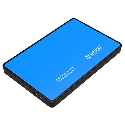 Фото - Корпус для HDD/SSD ORICO 2588US3 синий корпус 2 5 orico 2588us3 sata usb3 0 black