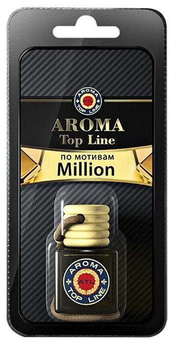 AROMA TOP LINE Ароматизатор для автомобиля 3D Aroma №21 Paco Rabanne 1 Million 6 мл