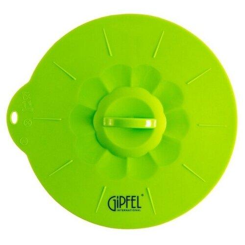 Крышка GIPFEL силиконовая 2624 (22.7 см) зеленый gipfel рукавица силиконовая tonia
