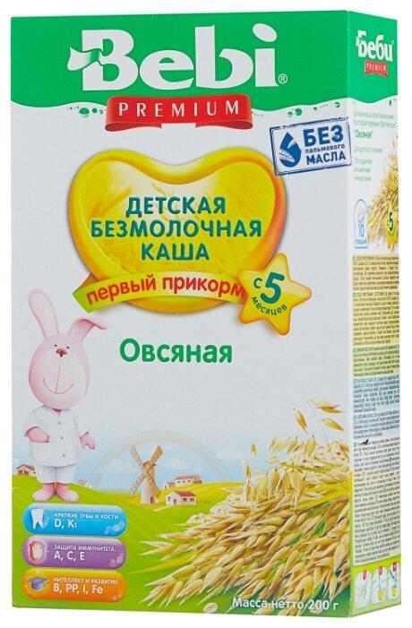 Каша Bebi безмолочная овсяная (с 5 месяцев) 200 г