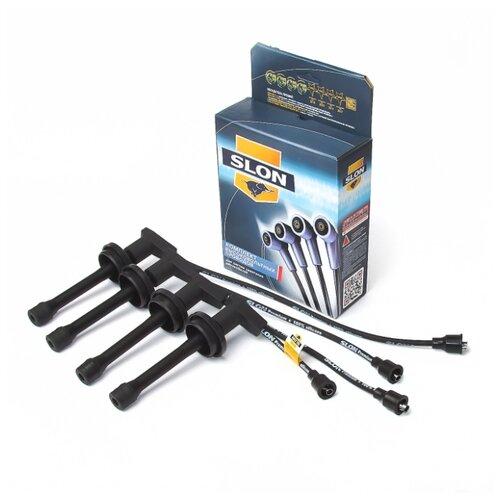 Комплект высоковольтных проводов системы зажигания SLON 4091.3707244