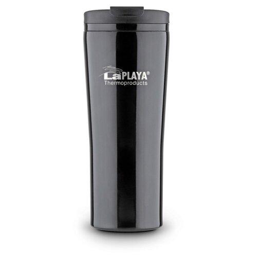 Термокружка LaPlaya Vacuum Travel Mug (0,4 л) black термокружка stanley go ceramivac 0 7l vacuum mug shale светло серый