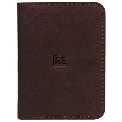 Обложка на паспорт Reconds «Mag» // шоколад