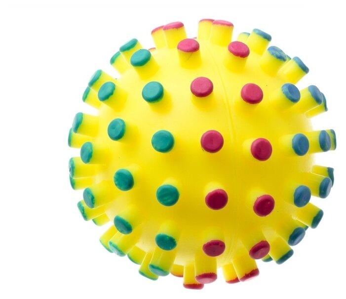 Мячик для собак Зооник Мяч-мина С021