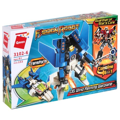 Конструктор Qman Fission Robot 3102-6