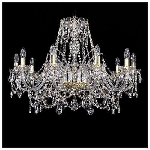 Фото - Люстра Bohemia Ivele Crystal 1411 1411/10/300/G, E14, 400 Вт люстра bohemia ivele crystal 1411 1411 12 6 300 h 94 g e14 720 вт