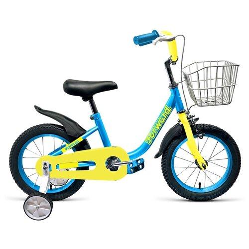 Детский велосипед FORWARD Barrio 14 (2019) голубой (требует финальной сборки) el barrio úbeda