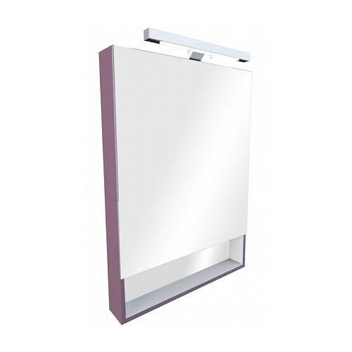 Шкаф-зеркало для ванной Roca Gap 80, (ШхГхВ): 80х12.9х85 см, фиолетовый