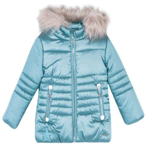Купить Пуховик COCCODRILLO Lovely star Z19152102LOS размер 122, зеленый, Куртки и пуховики
