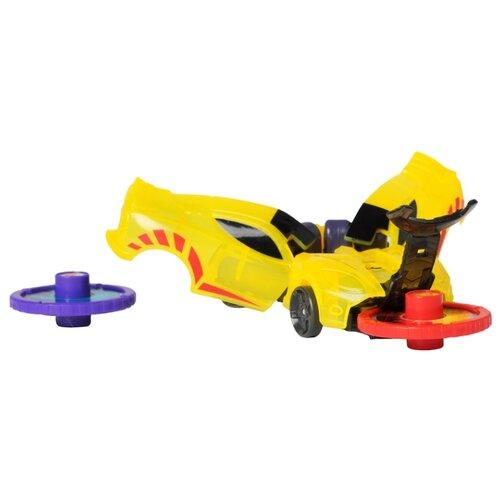 Интерактивная игрушка трансформер РОСМЭН Дикие Скричеры. Линейка 1. Спаркбаг (34822) желтый интерактивная игрушка трансформер росмэн дикие скричеры линейка 2 манкиренч 34825 красный