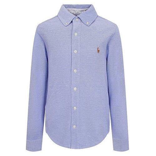 Рубашка Ralph Lauren размер 122, голубой