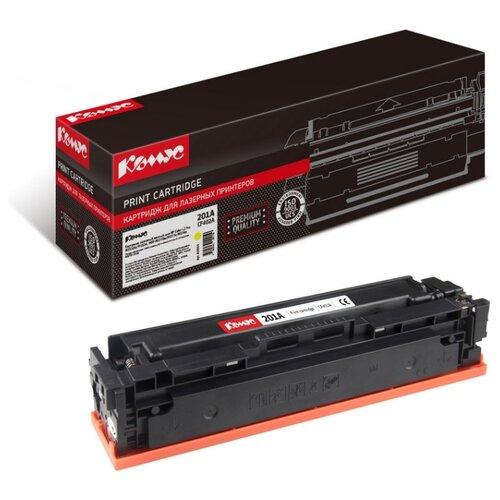 Фото - Картридж лазерный Комус CF402A для HP LJ Pro MFP M252/M277 картридж hp cf402a для hp clj pro m252 m277 желтый