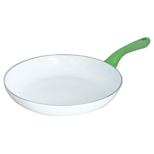 Сковорода Beka Fluo 28 см, белый/зеленый