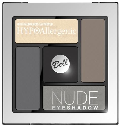 Bell Палетка теней HYPOAllergenic Nude Eyeshadow