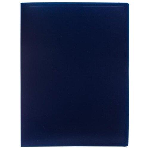 Attache Папка-скоросшиватель с пружинным механизмом А4, пластик 500 мкм синий attache папка скоросшиватель fluid а4 пластик фиолетовый