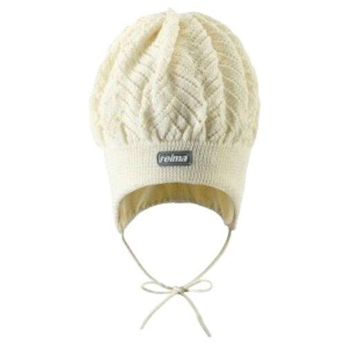 Купить Шапка Reima размер 46, white, Головные уборы