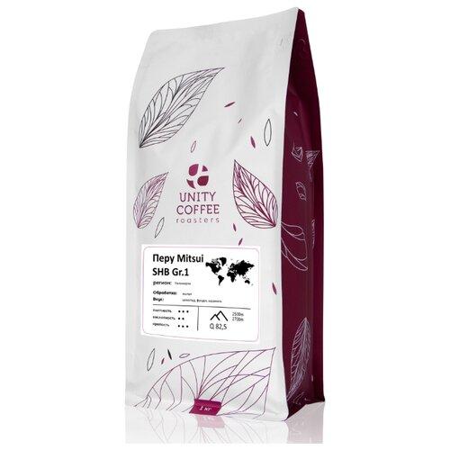 Кофе в зернах Unity Coffee Перу Mitsui SHB G1, 1 кг