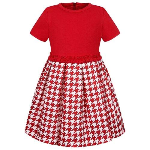 Платье Special Day размер 92, красный/белый платье oodji ultra цвет красный белый 14001071 13 46148 4512s размер xs 42 170