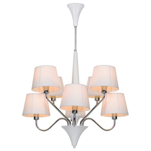 Люстра Arte Lamp A1528LM-8WH, E14, 320 Вт