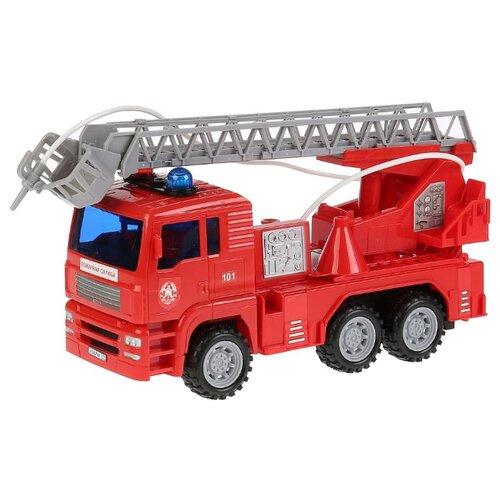 Пожарный автомобиль ТЕХНОПАРК 1335822-R 24 см красный автомобиль технопарк гонки цвет в ассортименте ebs868 r