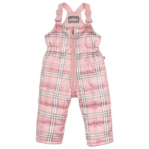 Купить Полукомбинезон Gulliver Baby 21931GBC6701 размер 86, розовый, Полукомбинезоны и брюки