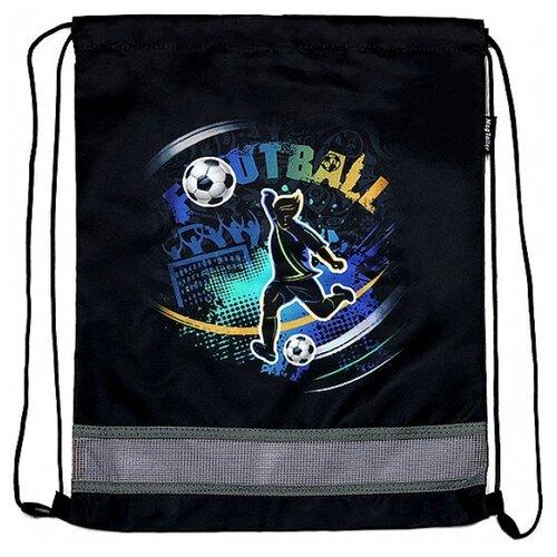 MagTaller Мешок для обуви Ezzy Football (31216-201) черный недорого
