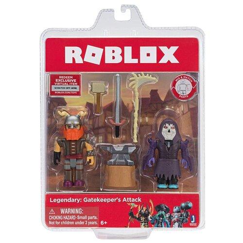 Фото - Набор фигурок Roblox: Legendary Gatekeepers Attack набор фигурок roblox fashion famous