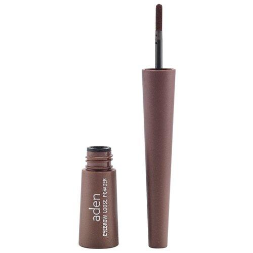 Купить Aden Пудра для бровей Eyebrow Loose Powder brown