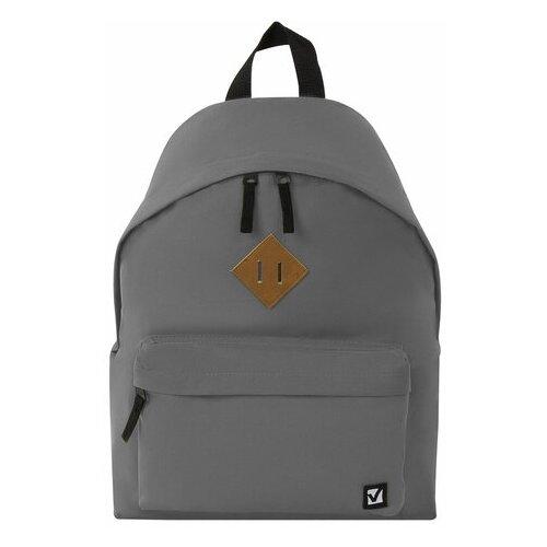 Рюкзак BRAUBERG 225380, серый