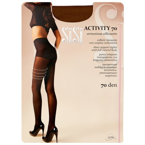 Колготки Sisi Activity 70 den, размер 2-S, naturelle (бежевый) колготки sisi activity 70 den
