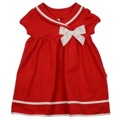 Платье Mini Maxi размер 116, красный/белый платье oodji ultra цвет красный белый 14001071 13 46148 4512s размер xs 42 170